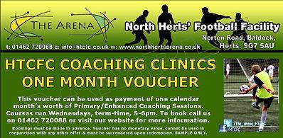 football clinics, voucher,