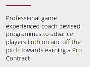 Coaching, Prodirect, football