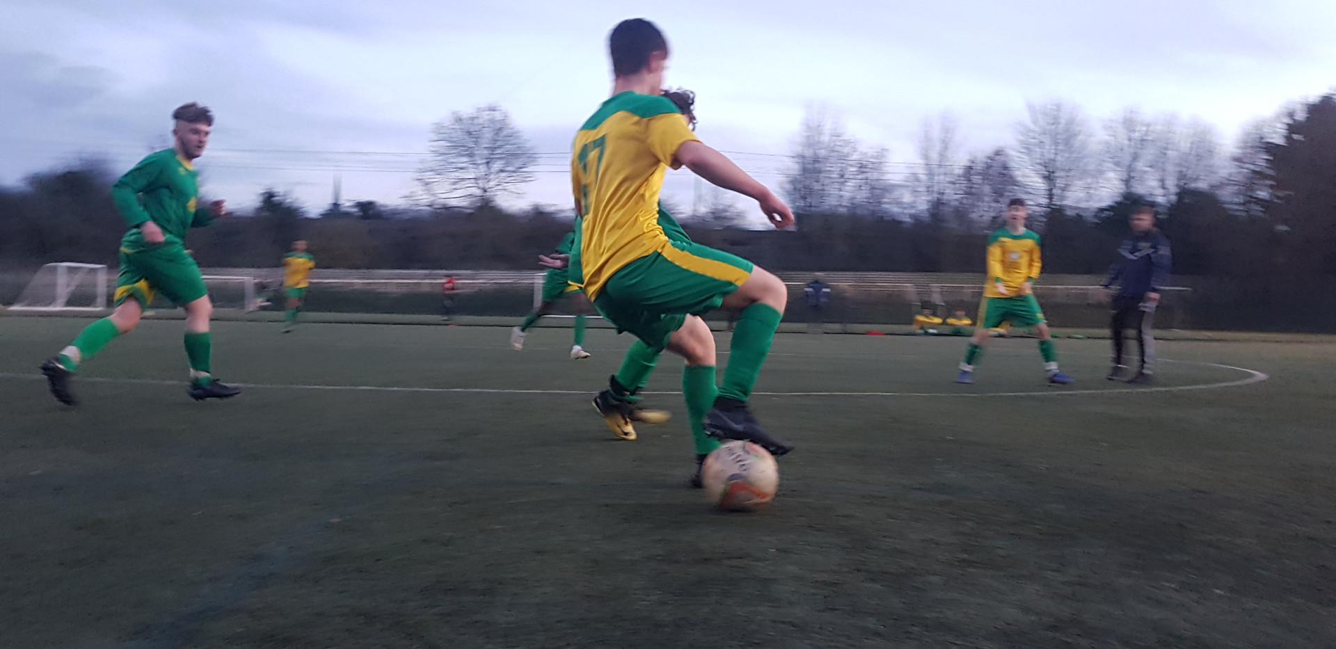 HTFC U16 EJA in action