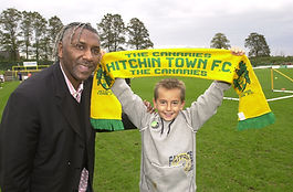 Ricky Hill, Hitchin Town FC, football, birthday party,match day package