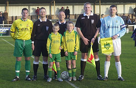 Birthday Party, match day package, mascot, football, Hitchin Town FC