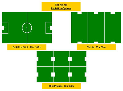 Pitch Hire, Artificial Pitch