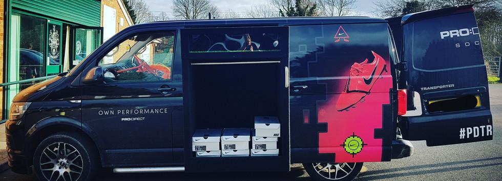 The Pro:Direct Boot Van