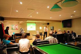 presentation, venue hire