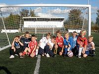 football party, kids, football, fun
