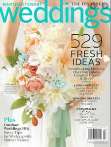 Martha Stewart Weddings Magazine