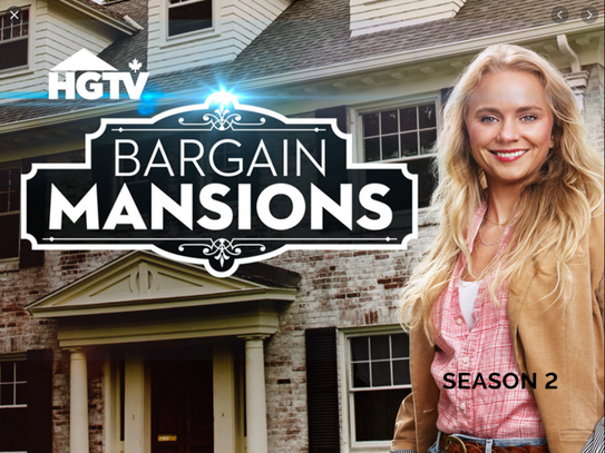 HGTV's Bargain Mansions TV Show