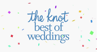 Multiple year award winner: The Knot- Best of Weddings