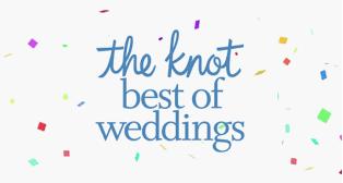 Multiple year award winner: The Knot- Best of Weddings