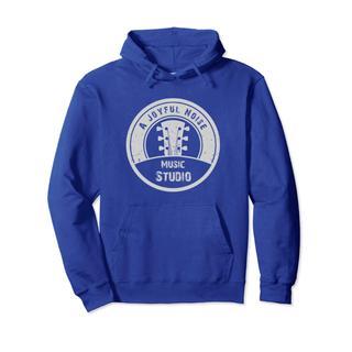Music Studio White Logo Hoodie