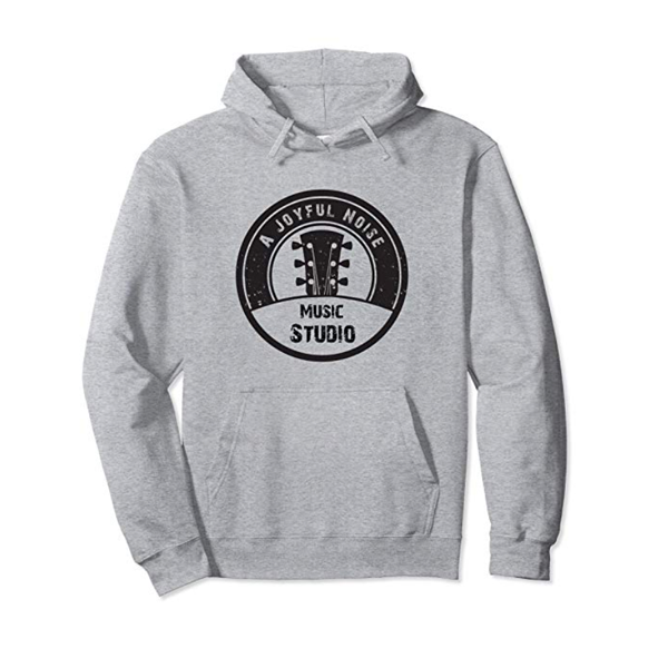Music Studio Black Logo Hoodie