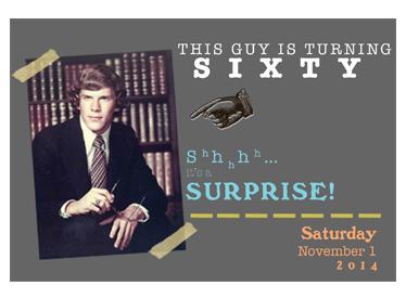 Event Postcard Mailer Design