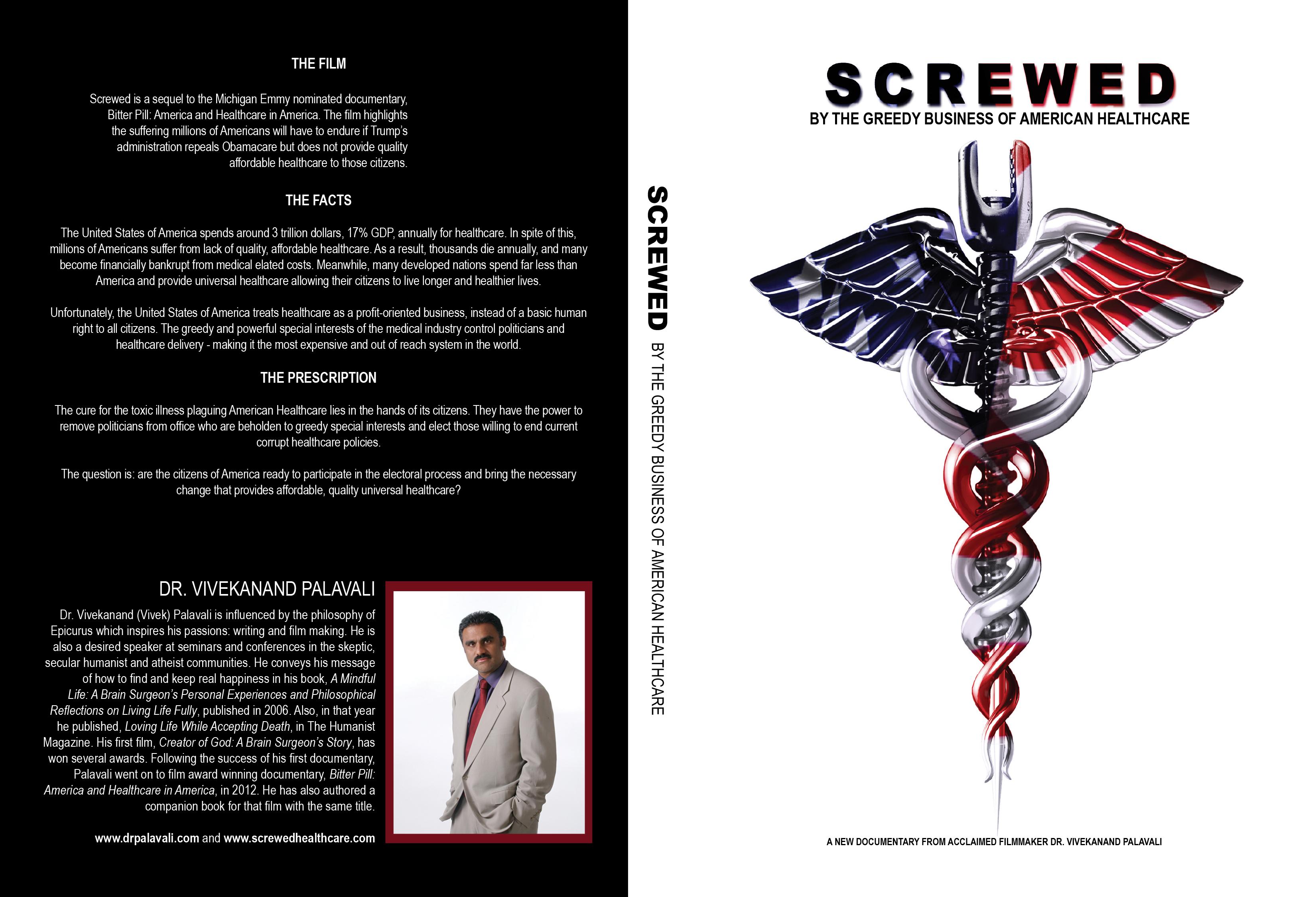 Film DVD Cover Art Design
