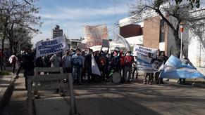 L'ACAF apoya los huelguistas de la Algodonera Avellaneda (grupo Vicentin)