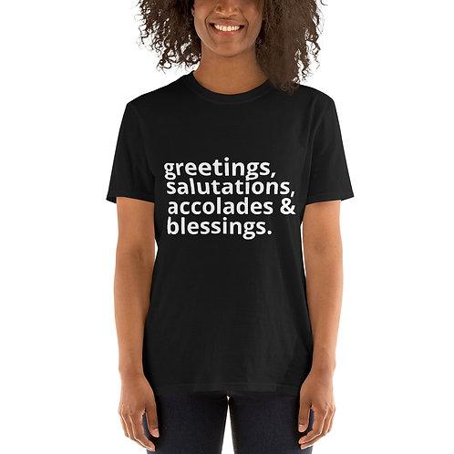 Greetings Short-Sleeve Unisex T-Shirt