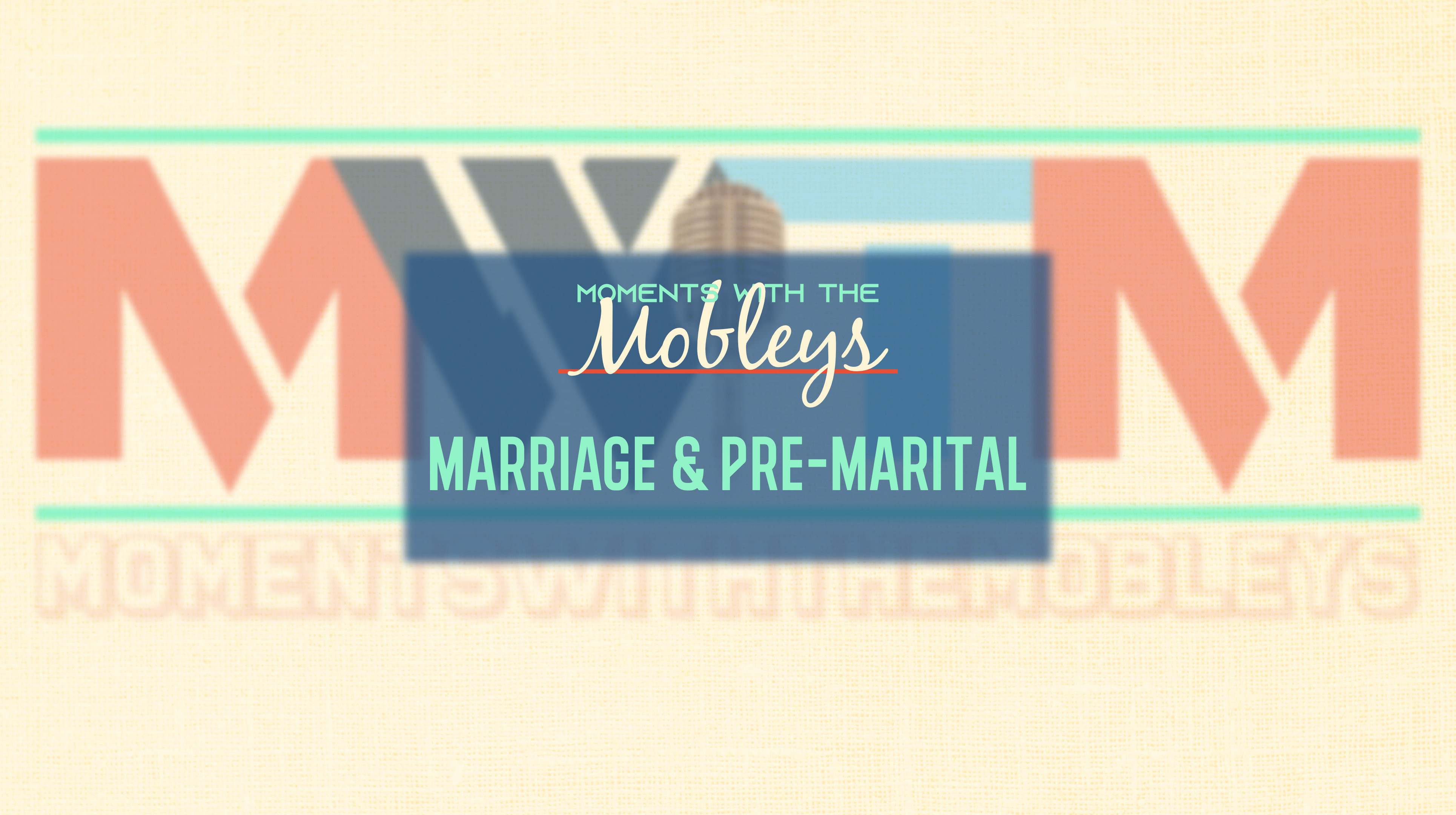 Marriage & Pre-Marital Counseling