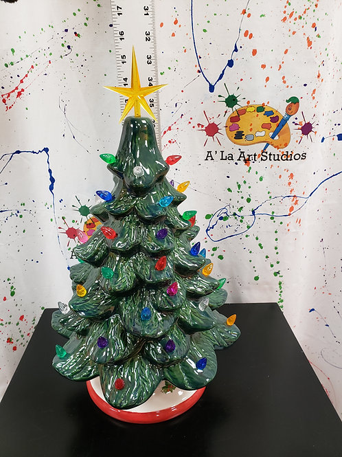 Vintage Christmas Tree Take Home Kit