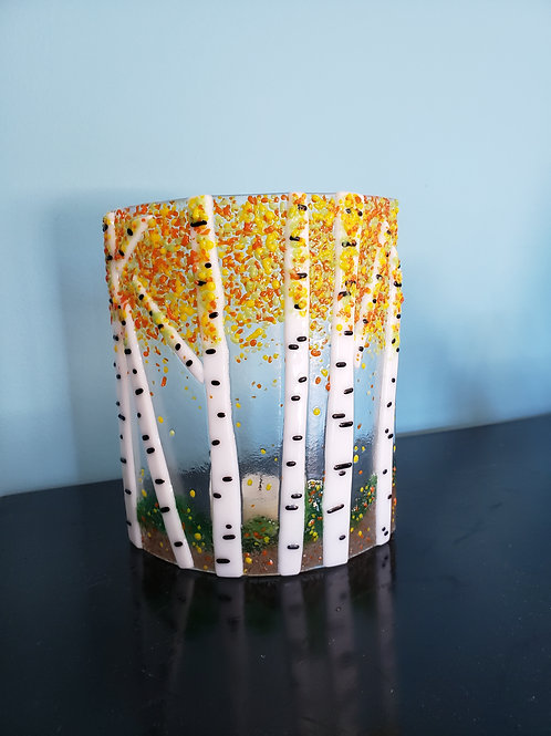 Fused Glass Candle Surround (Oct. 21st -- 6:30-8:30PM)