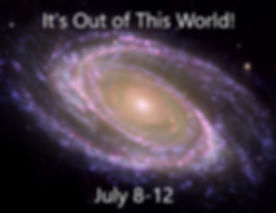 It's Out of This World (July 8-12) Cover
