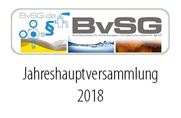 BVSG E.V. – JHV 2018 JAHRESHAUPTVERSAMMLUNG