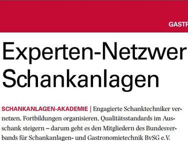 Brauwelt: Experten-Netzwerk für Schankanlagen