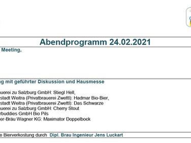 BvSG - Zapftagung Österreich 2021