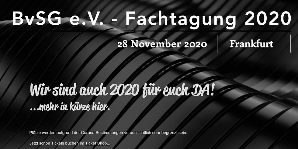 BvSG e.V. - Online Fachtagung 2020