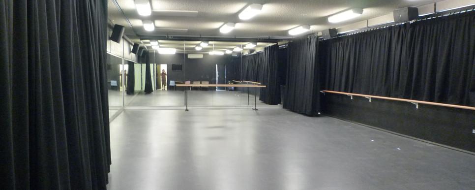 Dance Studio Drapes