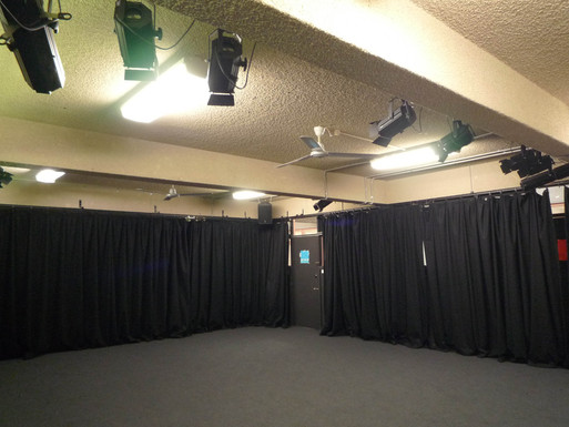 Nepean High Drama room Drapes