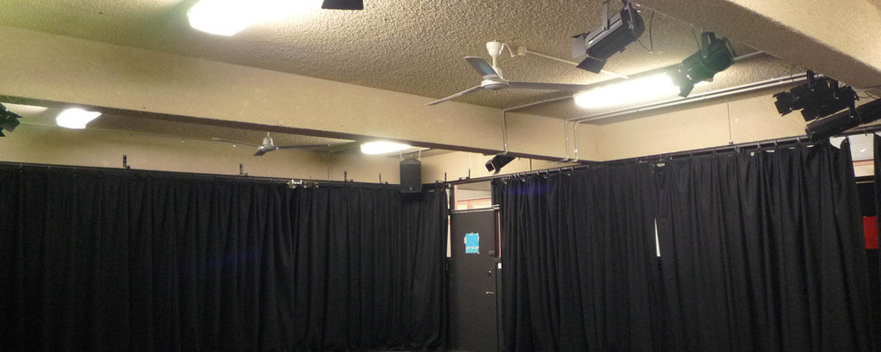 Nepean High Drama room drapes