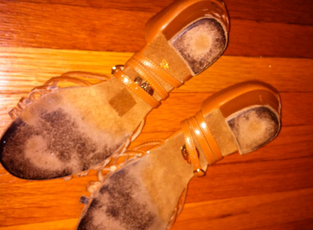Fixing Slippery Shoes! By Linda Pritchard