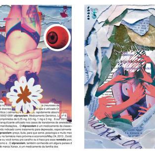 Alprazolam - 2021 Lua Portugal  Colagem digital 29,7 x 42 cm  Díptico - R$400,00  Individual - R$200,00