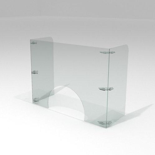 Barrera Sanitaria p/ Manicura 80x60cm + 30cm de Alas +IVA