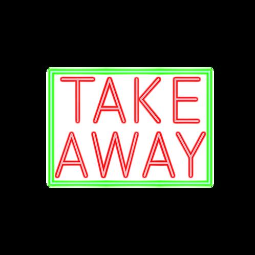 TAKE AWAY - 35x25cm