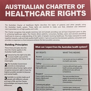 Charter of Healthcare Rights