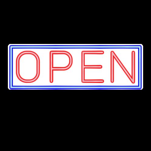 OPEN - 53x18cm