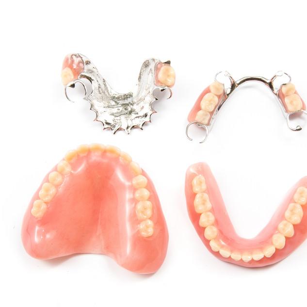 Different Denture Designs