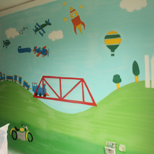 Children Nursery Artwork Painting