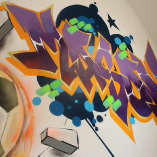 Your Childs name in Graffiti