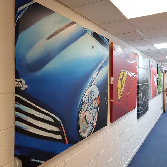 Car Canvas Collection