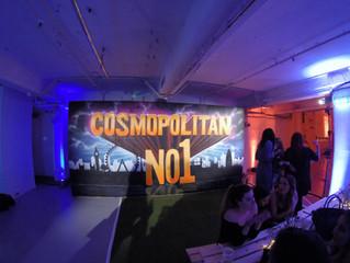 Cosmopolitan Magazine Live Art