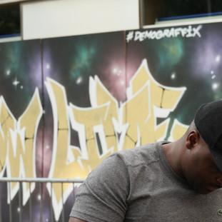 Fashion Show Live Graffiti backdrop