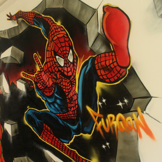 Spiderman Kids Bedroom