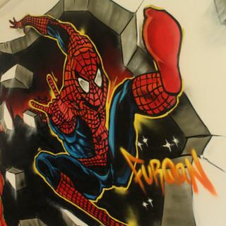 Spiderman Kids Bedroom
