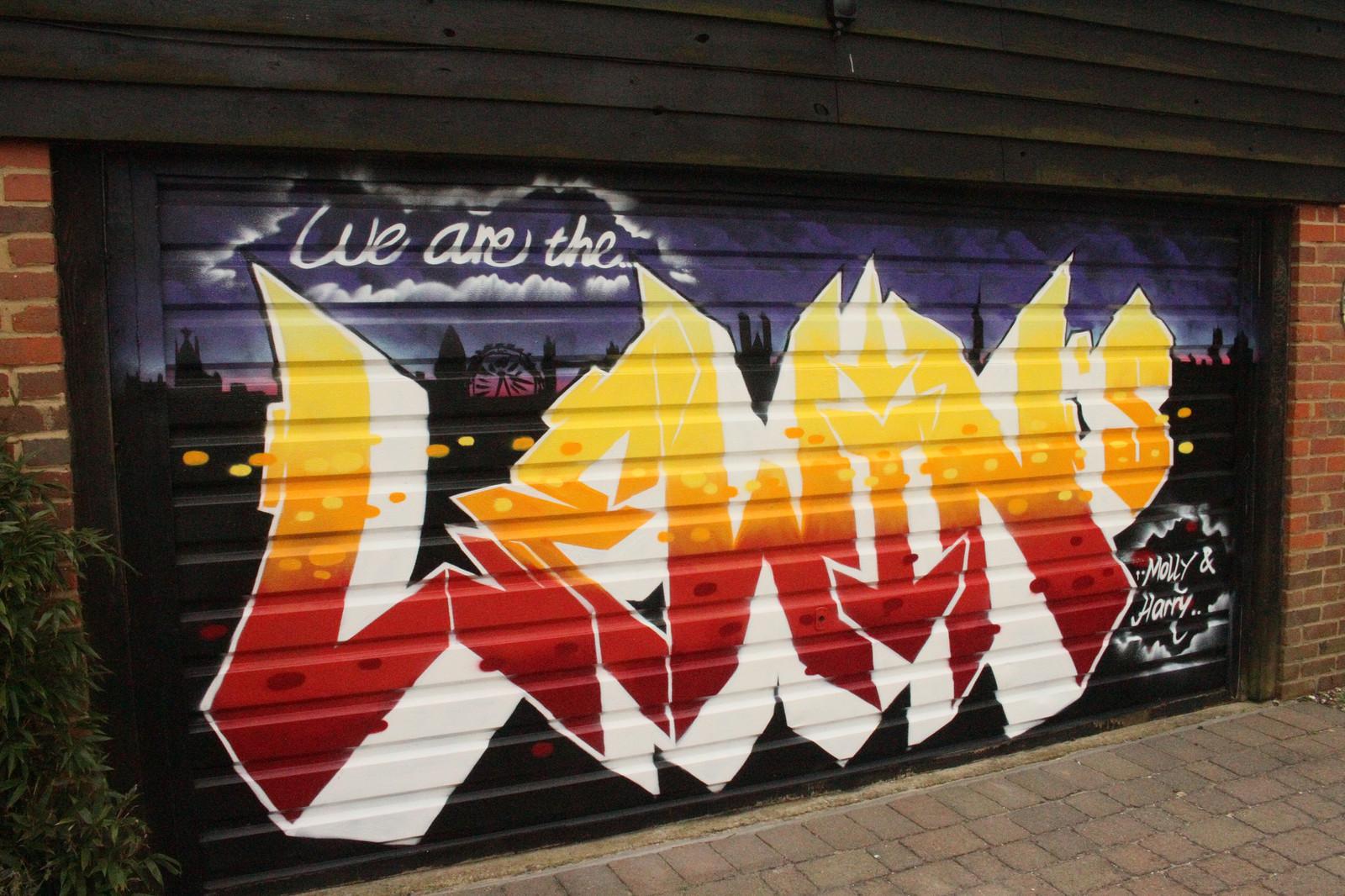 Attractive Personalised Graffiti Wall Art Festooning - Wall Art ...