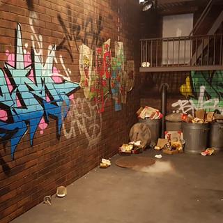 TMNT Film Set Graffiti Streetart