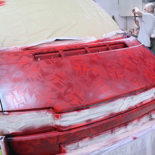 VW Transporter Graffiti Respray