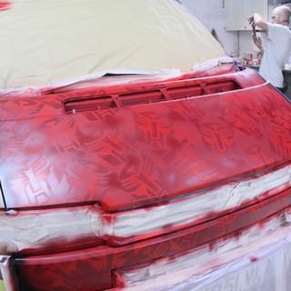 VW Transporter Graffiti Respray