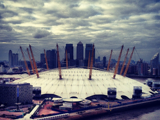 Demograffix was commissioned to paint a mural at the O2 arena
