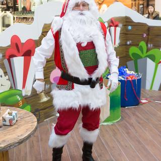 Shopping Centre Father Christmas